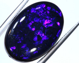 N1 -  16.7CTS QUALITY BLACK OPAL POLISHED STONE  INV-OPM-180