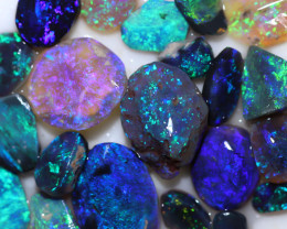 59.05 CTS  BLACK OPAL ROUGH PARCEL FROM LIGHTING RIDGE[BR7452]