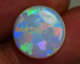 2.310 CRT AMAZING ROUND PUZZLE WEB PATTERN BEAUTY MULTICOLOR WELO OPAL