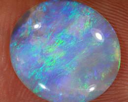 2.85ct 14x13mm Solid Lightning Ridge Crystal Opal [LO-2149]