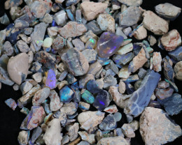 1940.00 CTS COLOURFUL OPAL ROUGH MINE RUN FROM LIGHTNING RIDGE[BRP220]