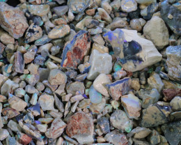 2180.00 CTS COLOURFUL OPAL ROUGH MINE RUN FROM LIGHTNING RIDGE[BRP223]