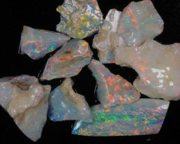 #1-Super Gemmy  Coober Pedy  Rough Opal   [25745]