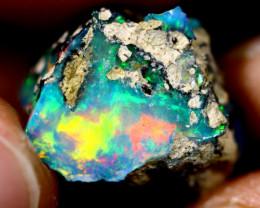 13cts Ethiopian Welo Rough Opal / WR1982