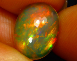 Welo Opal 1.66Ct Natural Ethiopian Play of Color Opal G3105/A44
