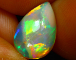 Welo Opal 2.22Ct Natural Ethiopian Play of Color Opal G3108/A44