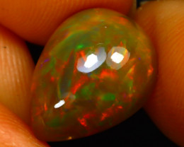 Welo Opal 3.04Ct Natural Ethiopian Play of Color Opal G3110/A44