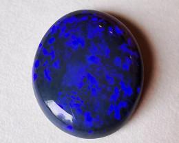 4.65 cts - Lightning Ridge Australia - Solid Black Opal Stone - Superb Colo