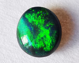 Solid Black Opal - Lightning Ridge Australia - 0.56 cts