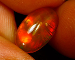 Welo Opal 1.89Ct Natural Ethiopian Play of Color Opal F0101/A44