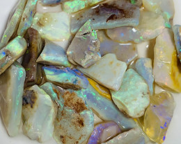 BRIGHT CLEAN ROUGH CRYSTAL OPALS #3616