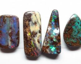 24.84ct Queensland Boulder Opal  6 Stone Parcel