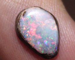 1.35 ct Beautiful Multi Color Queensland Boulder Opal