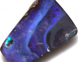 $3.35 PER CTS 22.50 CTS DRILLED BOULDER OPAL-WELL POLISHED [BMA9403]