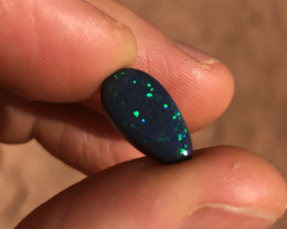 3.4ct N3 black opal