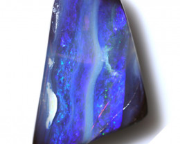 17.15 CTS DRILLED BOULDER OPAL-WELL POLISHED [BMA9407]