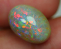 5.165 CRT DARK BASE PRISM RAINBOW FLORAL FIRE WELO OPAL-