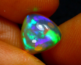 Welo Opal 1.51Ct Natural Ethiopian Play of Color Opal J0402/A44