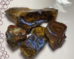 Rough Australian Boulder Opals #3652