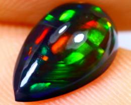 1.09cts Natural Ethiopian Smoked Black Opal / BF1443