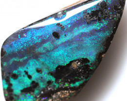$ 6.85 PER CTS 20.45 CTS DRILLED BOULDER OPAL-WELL POLISHED [BMA9484]
