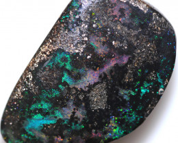 $ 1.61 PER CTS 38.55 CTS DRILLED BOULDER OPAL-WELL POLISHED [BMA9491]