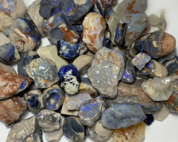 ROUGH NOBBY OPALS WITH GOOD COLOURS*** 1200 CTS #3658