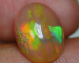 3.070 CRT BRILLANT CRYSTAL CHAFF FLORAL PATTERN WELO OPAL-