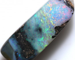 $5.90 PER CTS 16.10 CTS DRILLED BOULDER OPAL-WELL POLISHED [BMA9501]