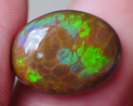 5.27 CRT DARK BASE PREFECT HONEYCOMB PATTERN WELO OPAL-