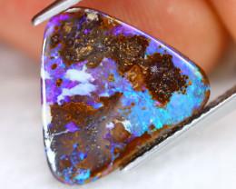 Boulder Opal 4.97Ct Natural Australian Multi Color Boulder Opal E0311