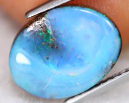 Boulder Opal 3.13Ct Natural Australian Multi Color Boulder Opal E0315