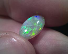 1.80 ct Lighting Ridge Solid crystal Opal Muitiple Gem colors