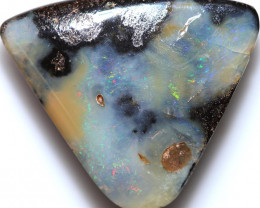 $0.91 PER CTS 57.10 CTS DRILLED BOULDER OPAL-WELL POLISHED [BMA9518]