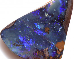 $1.60 PER CTS 52.25 CTS DRILLED BOULDER OPAL-WELL POLISHED [BMA9520]