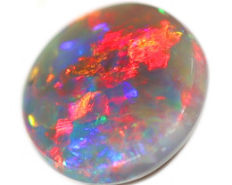 0.95CT BLACK OPAL STONE LIGHTNING RIDGE [CS217]
