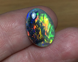 The Burning Bush!! Double Sided!! 6.21ct Lightning Ridge Black Opal LRS990
