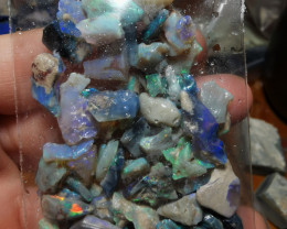 SUPER BRIGHT PARCEL OF OPAL CHIPS
