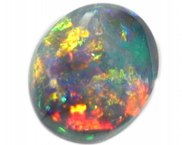 0.45CT BLACK OPAL STONE LIGHTNING RIDGE [CS232]