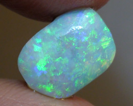 3.10 ct $1 NR Gem Blue Green Color Boulder Opal Rough Rub Opal