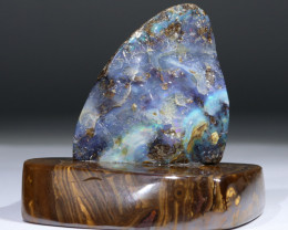 Natural Boulder Opal Polished Specimen Code -SS35