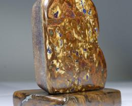 Natural Boulder Opal Matrix Polished Specimen SS31