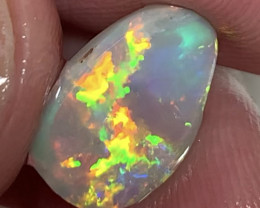 TOP BRIGHT MULTICOLOUR FIRE OPAL FOR JEWELLERY #011