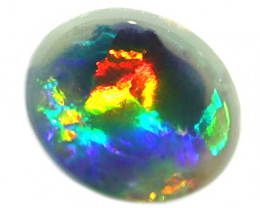 0.45CT BLACK OPAL STONE LIGHTNING RIDGE [CS234]