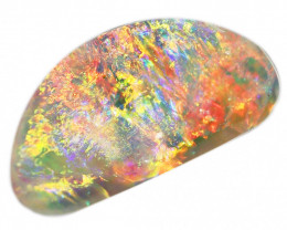 4.60CT COOBER PEDY SHELL FOSSIL OPAL STONE [CS242]
