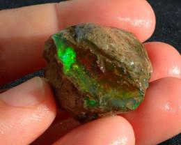 A9 Gamble Quality Rough Ethiopian Wello Opal Specimen
