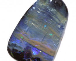 33.35 CTS DRILLED BOULDER OPAL-WELL POLISHED [FJP3340]