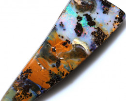$3.94 PER CTS 83.80 CTS DRILLED BOULDER OPAL-WELL POLISHED [FJP3356]
