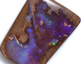$1.00 PER CTS 24.70 CTS DRILLED BOULDER OPAL-WELL POLISHED [FJP3358]