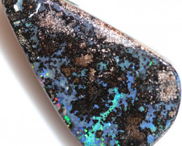 $0.99 PER CTS 70.70 CTS DRILLED BOULDER OPAL-WELL POLISHED [FJP3371]